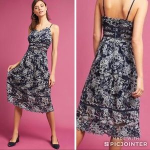 NWT | Anthropologie (Eri + Ali) Troye Dress